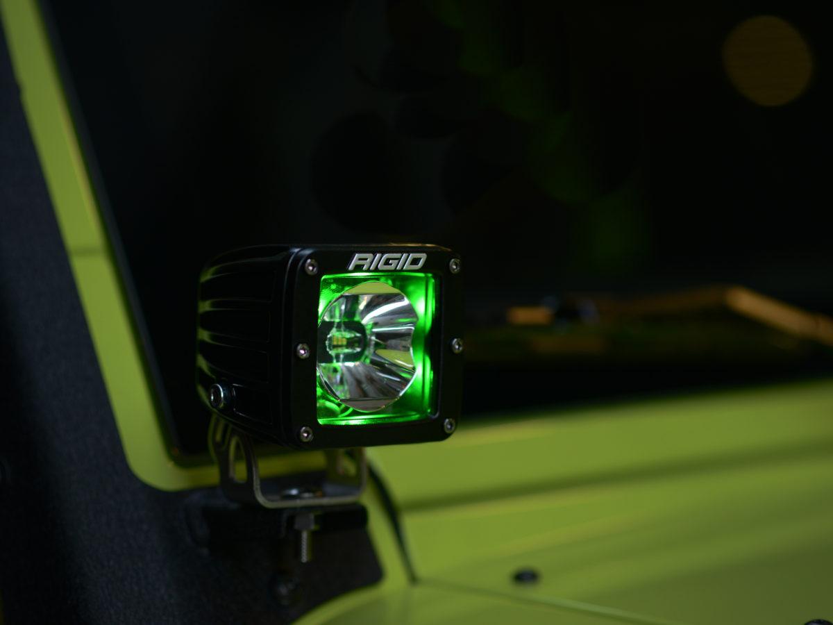 RIGID Radiance POD для Jeep Wrangler